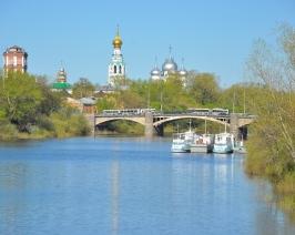 р.Вологда, мост