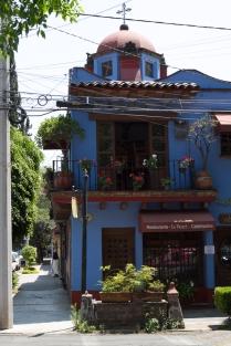Дом рядом с музеем Фриды Калло