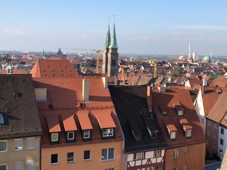 Вид на город и ц.Св.Зибальда