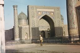 Эль Регистан, Самарканд